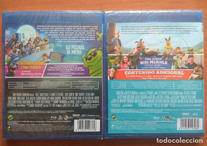 Cine: Envio incluido // Lote Blu ray: Hotel transilvania 3 Unas vacaciones monstruosas y Peter Rabbit - Foto 2 - 202843061