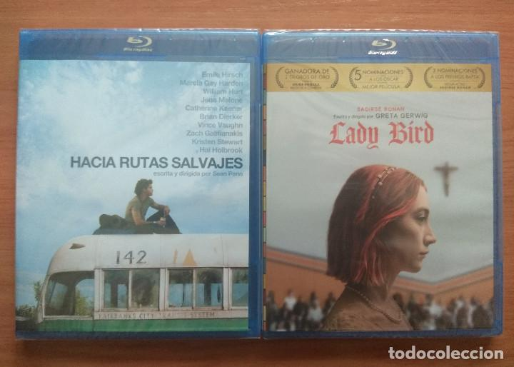 ENVIO INCLUIDO // LOTE BLU RAY: HACIA RUTAS SALVAJES Y LADY BIRD (Cine - Películas - Blu-Ray Disc)