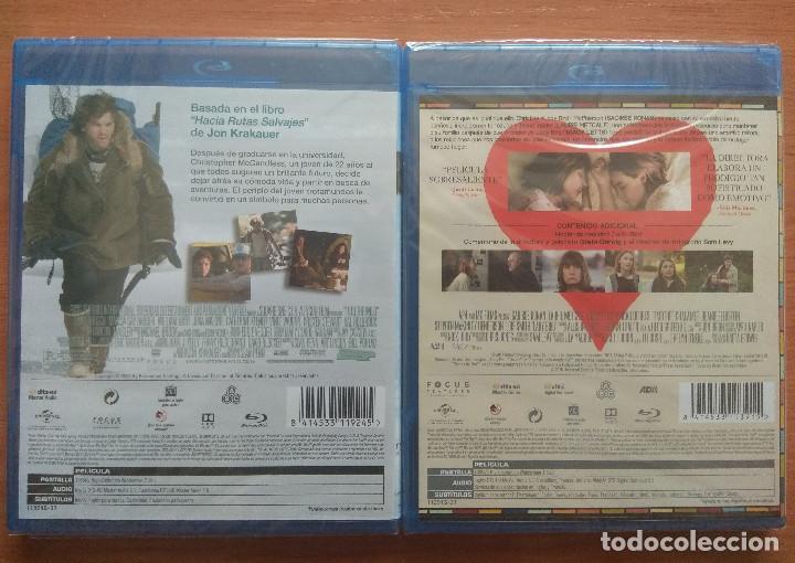 Cine: Envio incluido // Lote Blu ray: Hacia rutas salvajes y Lady Bird - Foto 2 - 202849187