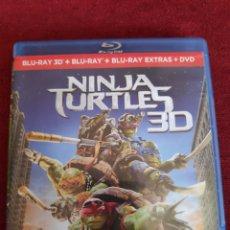Cine: NINJA TURTLES 3D - BLU-RAY - TORTUGAS NINJAS 3D. Lote 203135523
