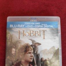 Cine: BLU-RAY - THE HOBBIT - DVD + BLURAY. Lote 203136765