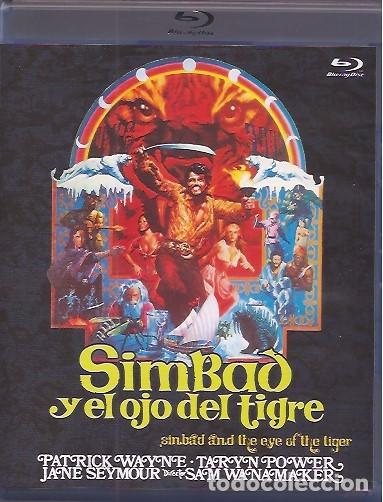 SIMBAD Y EL OJO DEL TIGRE (Cine - Películas - Blu-Ray Disc)