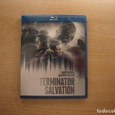 Cine: TERMINATOR SALVATION - CON CHRISTIAN BALE - BLU - RAY DISC - COMO NUEVA. Lote 203579435