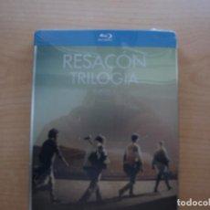 Cine: RESACON - TRILOGIA - EN CAJA METALICA - BLU - RAY DISC - `PRECINTADA - SIN USAR. Lote 203583491