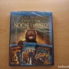 Cine: COLECCION NOCHE EN EL MUSEO - 3 PELICULAS - BLU - RAY DISC - `PRECINTADA - SIN USAR. Lote 203610551
