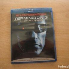 Cine: TERMINATOR 3 - LA REBELION DE LAS MAQUINAS - BLU - RAY DISC - COMO NUEVA. Lote 203612678