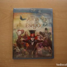 Cine: ALICIA A TRAVES DEL ESPEJO - DISNEY - CON JOHNNY DEPP - BLU - RAY DISC - PRECINTADA - SIN USAR. Lote 203617716