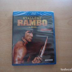 Cine: RAMBO - LA TRILOGIA - 3 PELICULAS - BLU - RAY DISC - PRECINTADA - SIN USAR. Lote 203618123