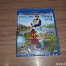 Cine: EL HOMBRE TRANQUILO EDICION COLECCIONISTA BLU-RAY DISC JOHN FORD JOHN WAYNE NUEVO PRECINTADO. Lote 278202368