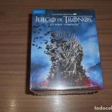 Cine: JUEGO DE TRONOS LA SERIE COMPLETA BLU-RAY DISC 33 DISCOS + DE 15 HORAS DE EXTRAS NUEVO PRECINTADO. Lote 253734630