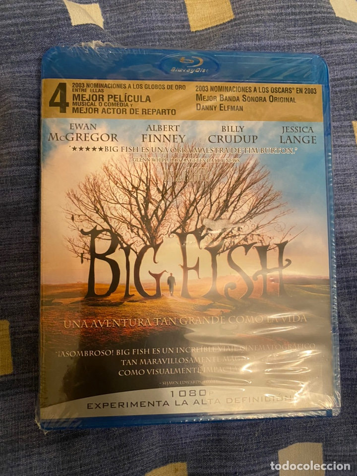 BIG FISH BLURAY PRECINTADO (Cine - Películas - Blu-Ray Disc)