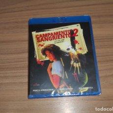 Cine: CAMPAMENTO SANGRIENTO 2 TERROR BLU-RAY DISC NUEVO PRECINTADO. Lote 205006976