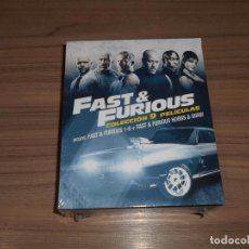 Cine: FAST & FURIOUS A TODO GAS SERIE COMPLETA 9 PELICULAS + EXTRAS BLU-RAY DISC NUEVO PRECINTADO. Lote 205129775