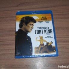 Cine: TRAICION EN FORT KING BLU-RAY DISC ANTHONY QUINN ROCK HUDSON NUEVO PRECINTADO. Lote 205379773