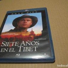 Cine: SIETE AÑOS EN EL TIBET BLU RAY DISC BRAD PITT JEAN JACQUES ANNAUD-MUY BUENA-DESCATALOGADA. Lote 205870156