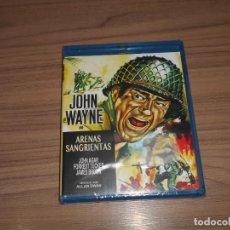 Cine: ARENAS SANGRIENTAS BLU-RAY DISC JOHN WAYNE NUEVO PRECINTADO. Lote 206131000