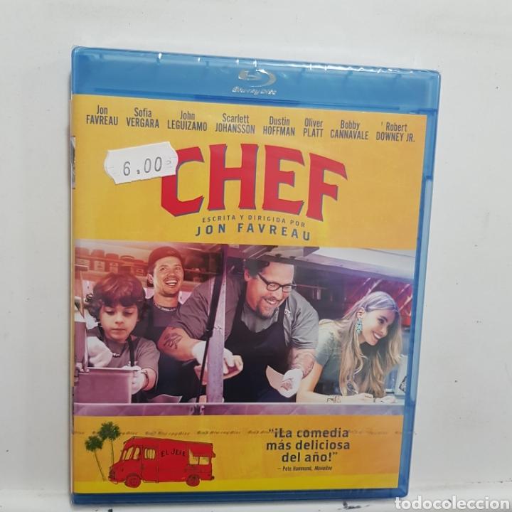 REF.2259 CHEF - BLURAY NUEVO A ESTRENAR (Cine - Películas - Blu-Ray Disc)