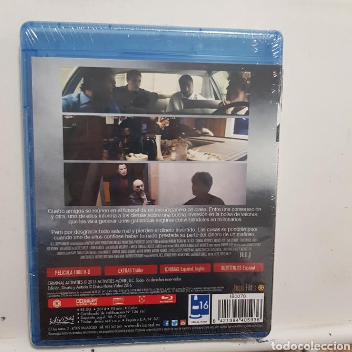 Cine: REF.2262 criminal activities - BLURAY NUEVO A ESTRENAR - Foto 2 - 206319401