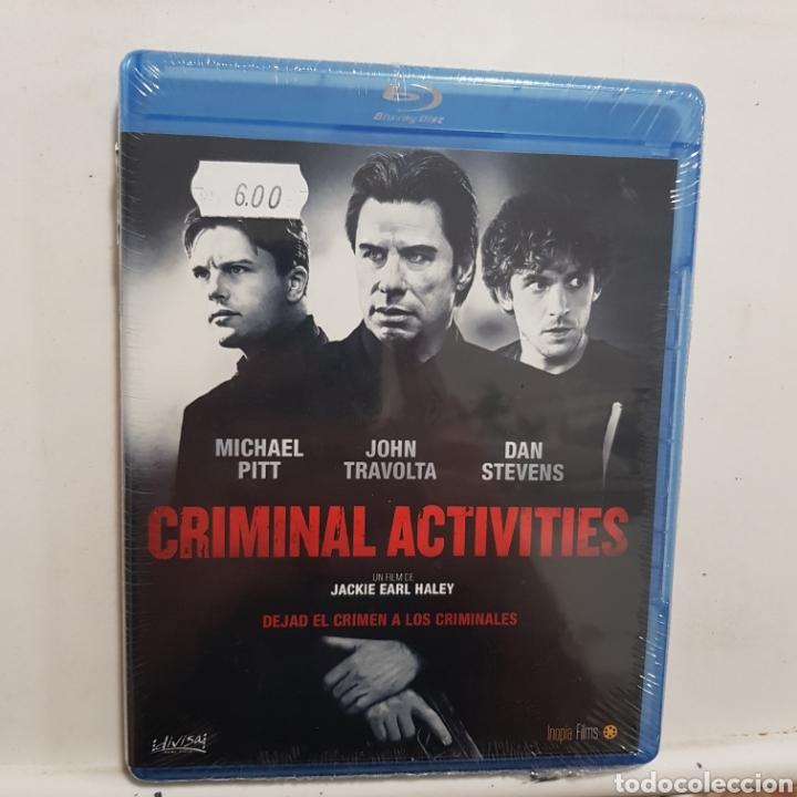 REF.2262 CRIMINAL ACTIVITIES - BLURAY NUEVO A ESTRENAR (Cine - Películas - Blu-Ray Disc)