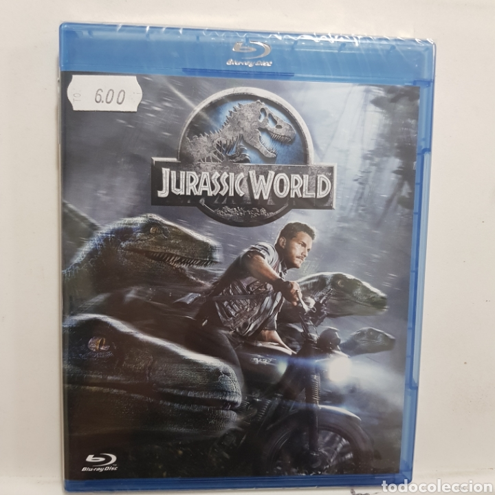 REF.2264 JURASSIC WORLD - BLURAY NUEVO A ESTRENAR (Cine - Películas - Blu-Ray Disc)
