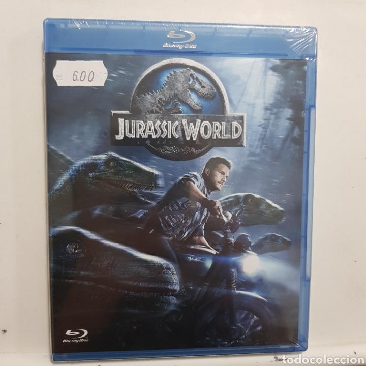 REF.2268 JURASSIC WORLD- BLURAY NUEVO A ESTRENAR (Cine - Películas - Blu-Ray Disc)