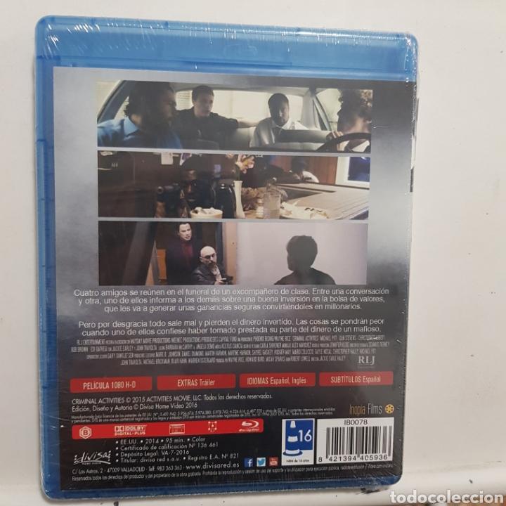 Cine: REF.2269 criminal activities - BLURAY NUEVO A ESTRENAR - Foto 2 - 206319948
