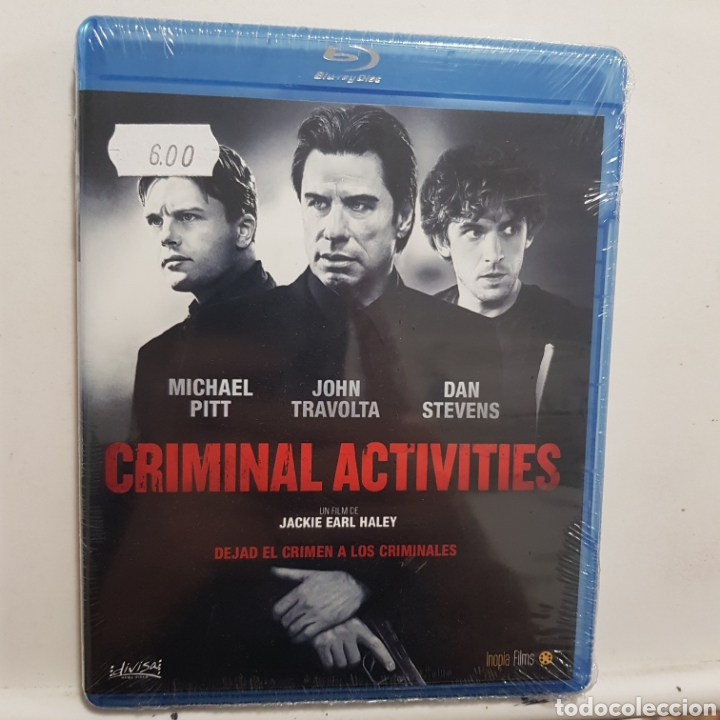 REF.2269 CRIMINAL ACTIVITIES - BLURAY NUEVO A ESTRENAR (Cine - Películas - Blu-Ray Disc)