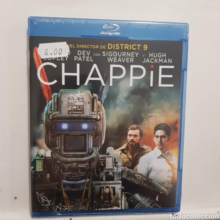 REF.2273 CHAPPIE - BLURAY NUEVO A ESTRENAR (Cine - Películas - Blu-Ray Disc)