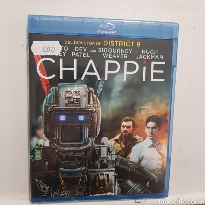 REF.2274 CHAPPIE - BLURAY NUEVO A ESTRENAR (Cine - Películas - Blu-Ray Disc)