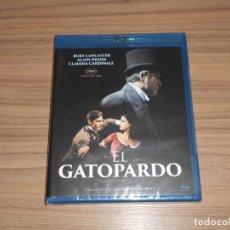 Cine: EL GATOPARDO BLU-RAY DISC DE LUCHINO VISCONTI BURT LANCASTER ALAIN DELON CARDINALE PRECINTADO. Lote 206345073