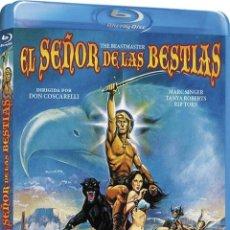 Cine: EL SEÑOR DE LAS BESTIAS (BLU-RAY) (BD-R) (THE BEASTMASTER). Lote 206365408