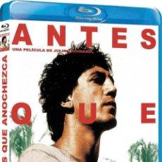 Cine: ANTES QUE ANOCHEZCA (BLU-RAY) (BEFORE NIGHT FALLS). Lote 206365417