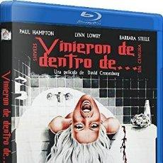Cine: VINIERON DE DENTRO DE... (BLU-RAY) (SHIVERS). Lote 206365457