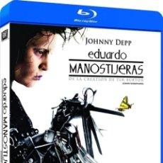 Cine: EDUARDO MANOSTIJERAS (BLU-RAY) (EDWARD SCISSORSHANDS). Lote 206365466