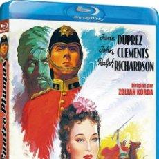 Cine: LAS CUATRO PLUMAS (1939) (BLU-RAY) (THE FOUR FEATHERS). Lote 206365468