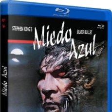Cine: MIEDO AZUL (BLU-RAY) (SILVER BULLET). Lote 206365487