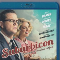 Cine: SUBURBICON - [BLU-RAY] - MATT DAMON / CLOONEY / ISAAC. Lote 206971327