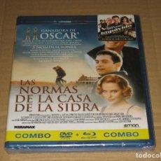 Cine: (SIN ABRIR) LAS NORMAS DE LA CASA DE LA SIDRA ______ (COMBO:DVD + BLU-RAY). Lote 206988243