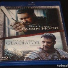 Cine: ROBIN HOOD GLADIATOR BLURAY. Lote 207039452