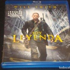 Cine: SOY LEYENDA BLURAY. Lote 207039541