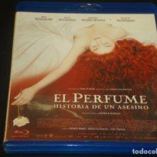 Cine: EL PERFUME HISTORIA DE UN ASESINO BLURAY. Lote 207040265