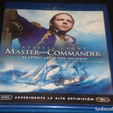 Cine: MASTER AND COMMANDER BLURAY. Lote 207040276
