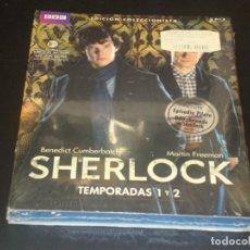 Cine: SHERCLOCK TEMPORADA 1 Y 2 BLURAY. Lote 207040281