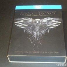 Cine: JUEGO DE TRONOS CUARTA TEMPORADA COMPLETA. Lote 207040328