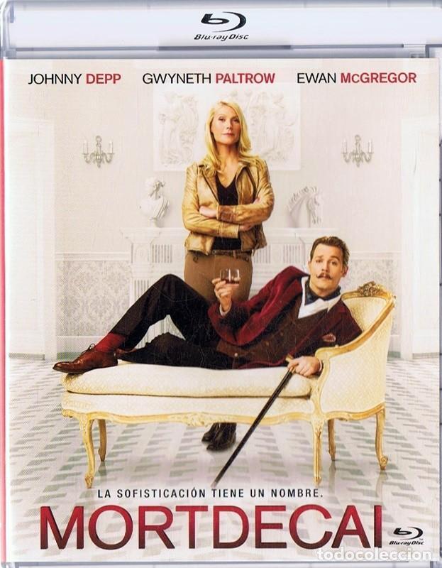 MORTDECAI JOHNNY DEPP (Cine - Películas - Blu-Ray Disc)