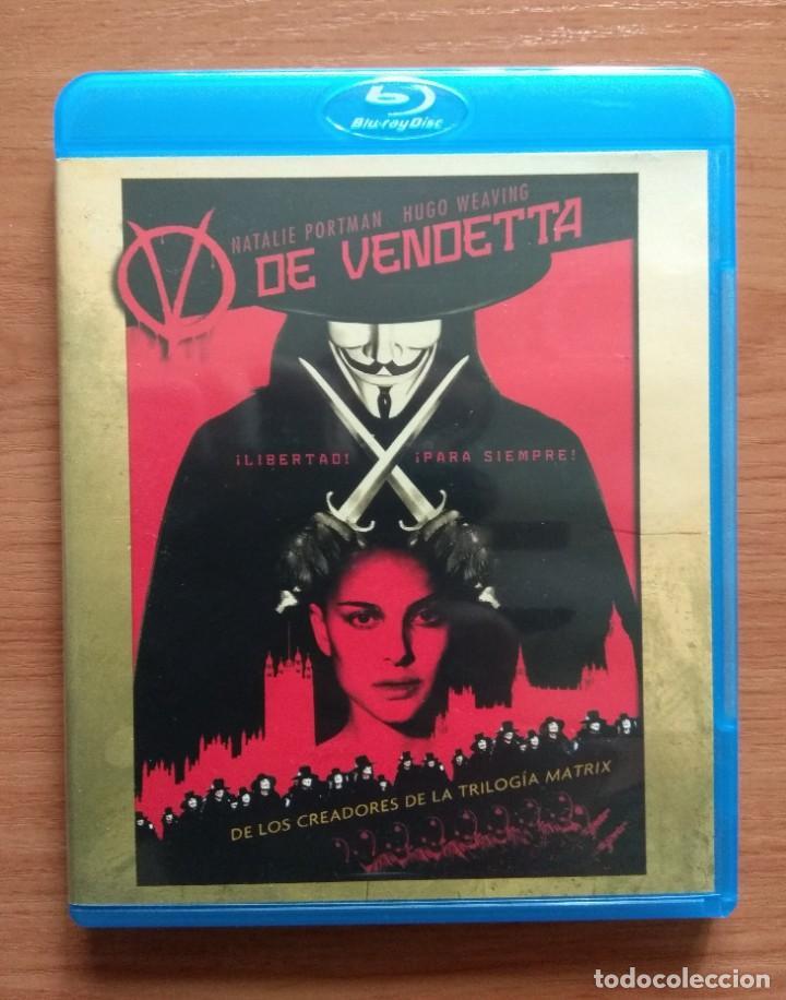 ENVIO INCLUIDO // BLU RAY V DE VENDETTA (Cine - Películas - Blu-Ray Disc)