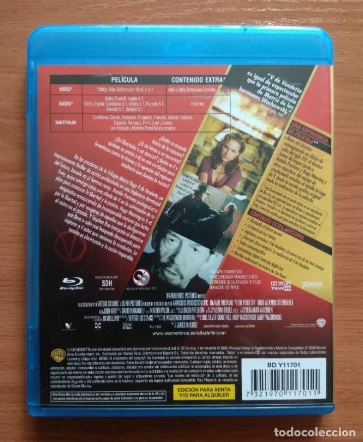 Cine: Envio incluido // Blu ray V de vendetta - Foto 2 - 207228526
