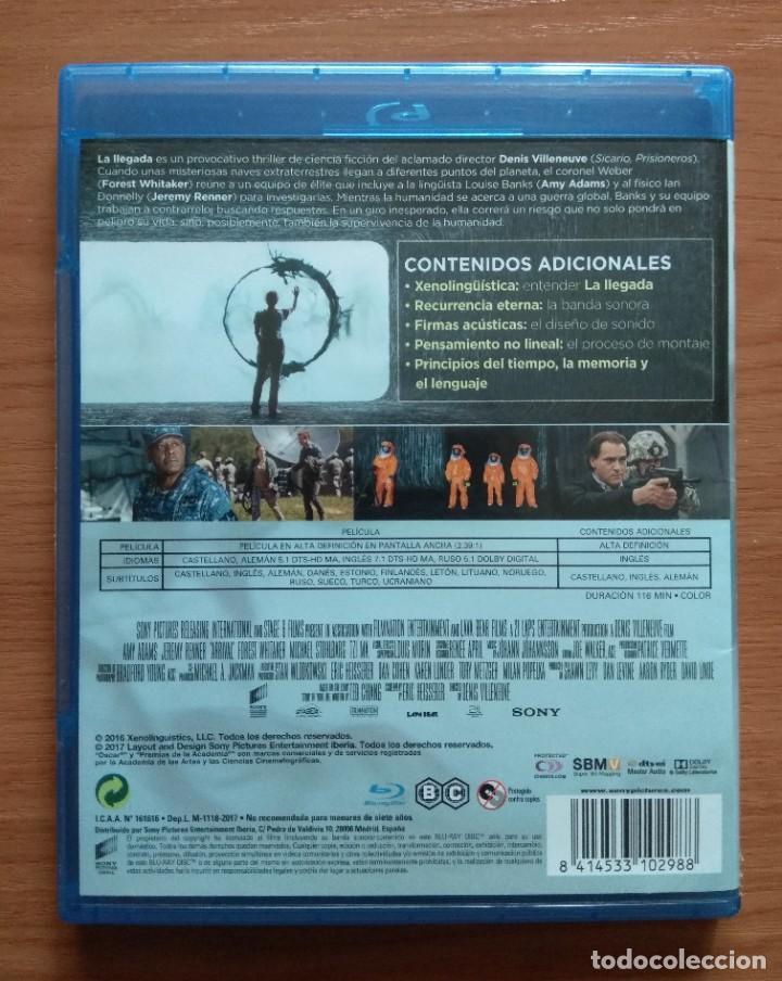 Cine: Envio incluido // Blu ray La llegada - Foto 2 - 207228888