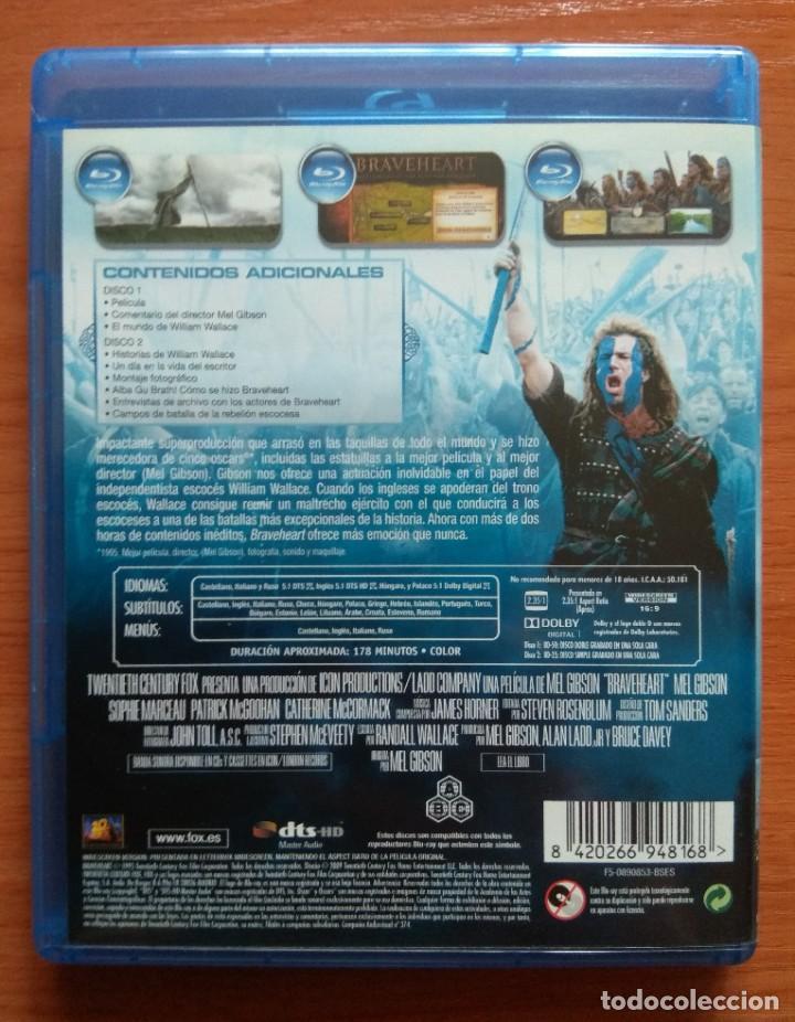 Cine: Envio incluido // Blu ray Braveheart. 2 discos. - Foto 2 - 207230421