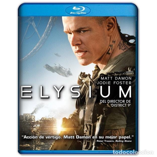 ELYSIUM BLURAY (Cine - Películas - Blu-Ray Disc)